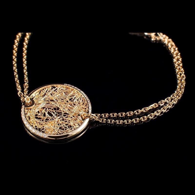 Bracelet D'or D'or Soie Femme Femme Soie Bracelet Bracelet Soie uPXiOZkT