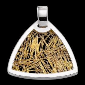 Pendentif Soie d'or troïda bicolore