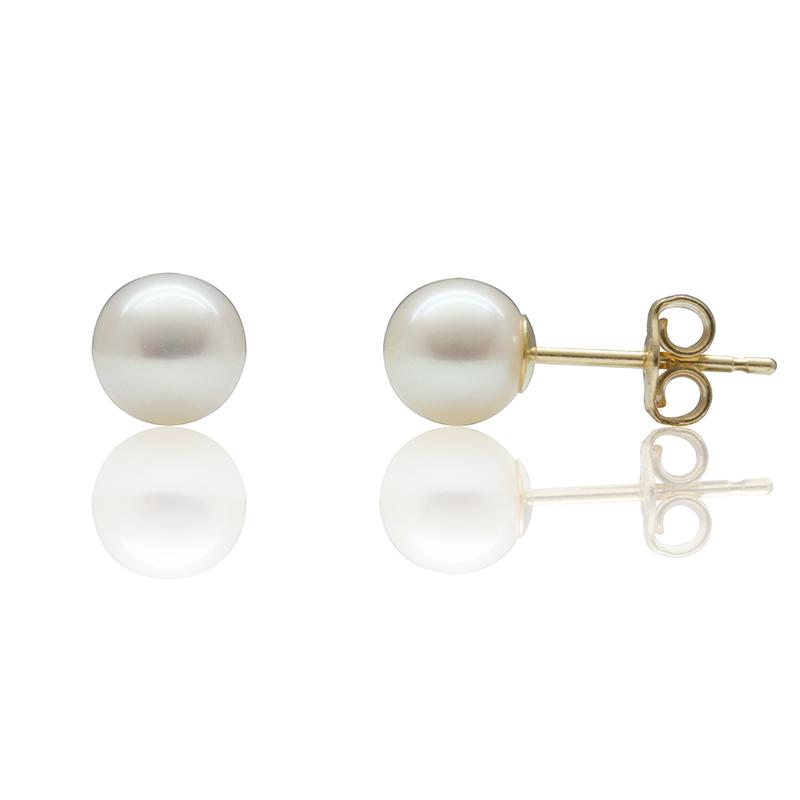 Boucles d'oreilles perles de culture