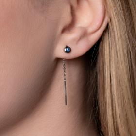 Boucles d'oreilles Colorys Saphirs bleus