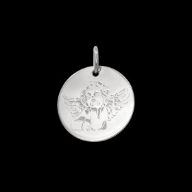 Médaille de baptême or Angelo