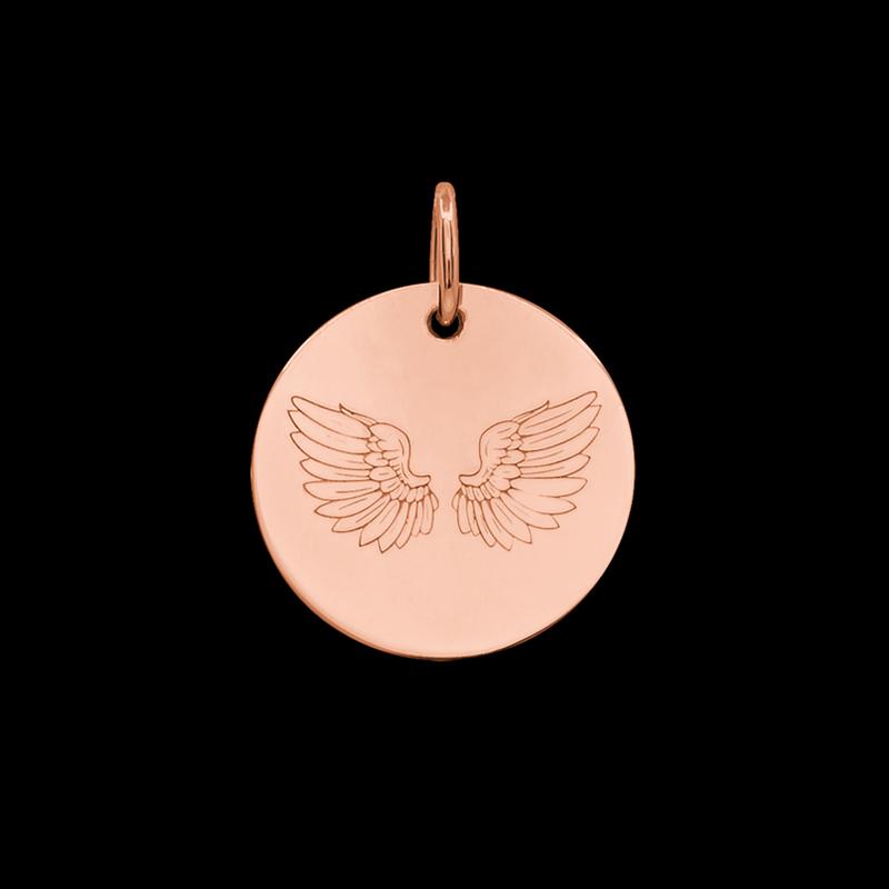 Médaille de baptême or Ales