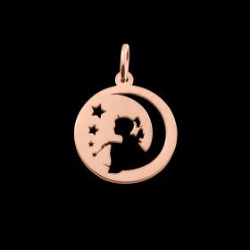 Médaille de baptême or fée