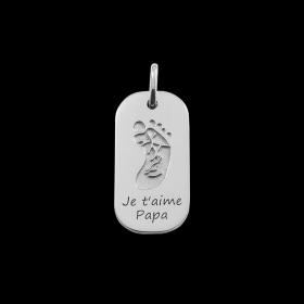 Médaille Empreinte