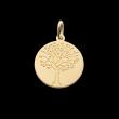 Médaille de baptême or Arbre de vie