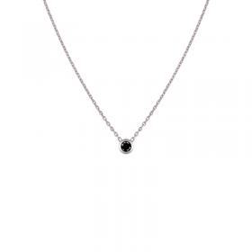 Collier Colorys Diamant noir