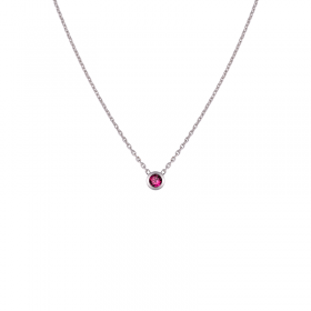 Collier colorys Rubis